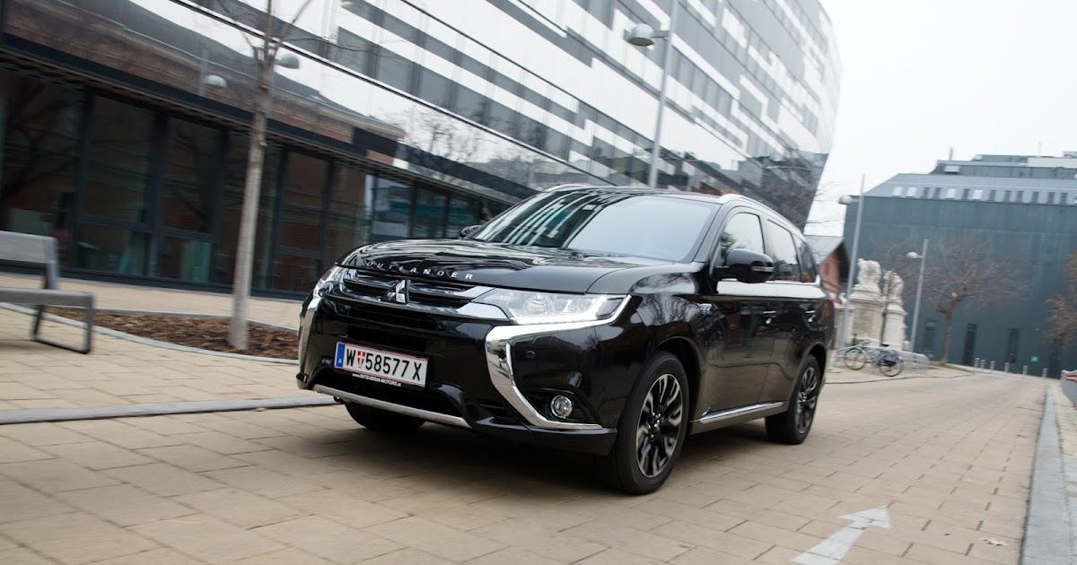 autofilou.at: Mitsubishi Outlander PHEV Instyle: So geht Plug-in-Hybrid!
