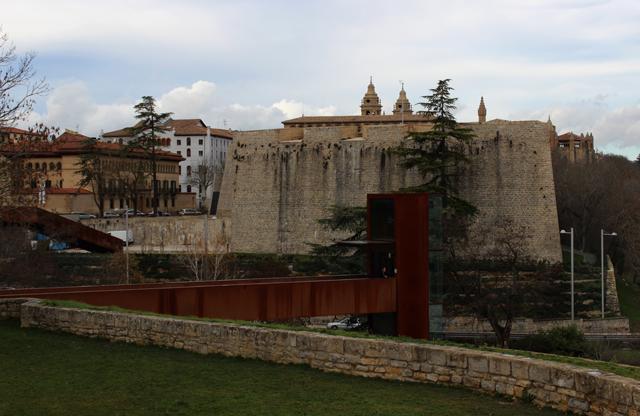 El Baluarte de Labrit, en las murallas de Pamplona