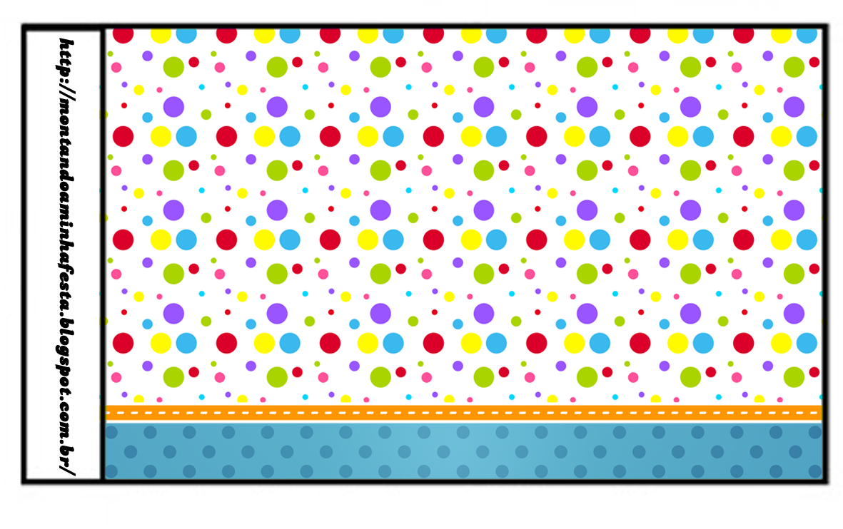 photo relating to Colored Printable Labels identify Coloured Dots: Totally free Printable Sweet Bar Labels. Oh My
