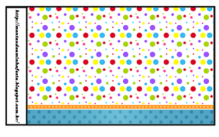 Sweet 16 Colored Dots Free Printable Labels.