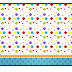 Sweet 16 Colored Dots: Free Printable Candy Bar Labels.