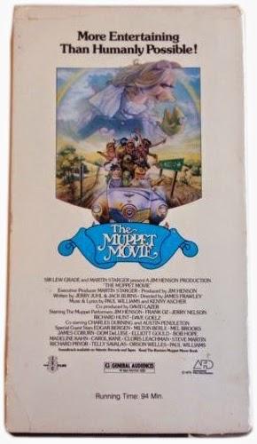 muppet stuff throwback thursday original muppet movie vhs