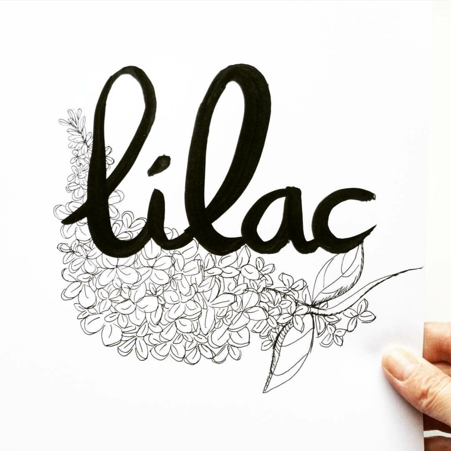 Little Moments In My Life Brush Letter Practice Challenge