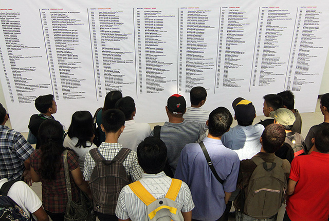 What jobs are in demand for Pinoys these days?