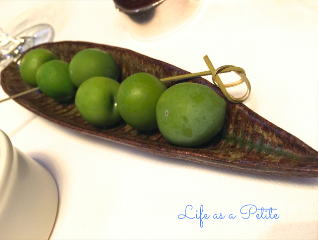Galvin La Chapelle Review Olives  (lifeasapetite)
