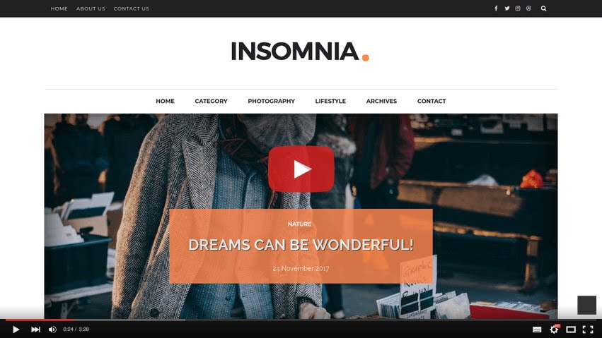 Just Click The Below Image To Watch Video Directly On You Or This Link How Setup Insomnia Blogger Template Way2themes