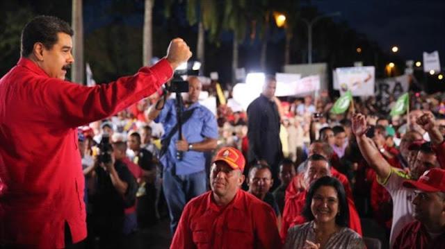 Maduro convoca para 17 de diciembre una gran marcha antigolpe