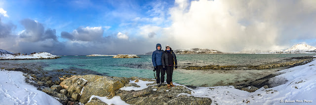 Colores del Oceáno Glacial Artico en Sommarøy - Tromso por El Guisante Verde Project