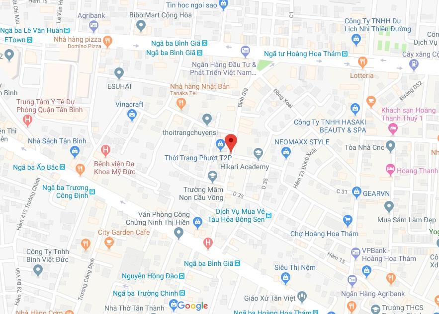 Bán nhà Mặt tiền đường Bình Giã phường 13 quận Tân Bình. DT 2,9x10,75