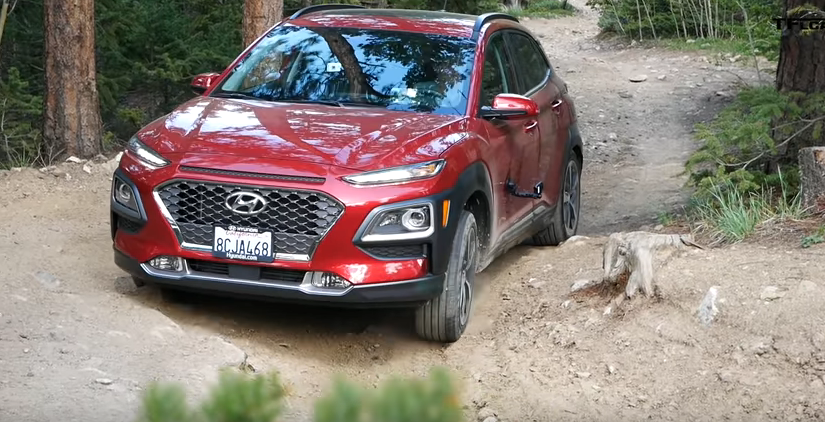 Barely Made It: 2018 Hyundai Kona vs Gold Mine Hill Off-Road Review