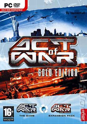 Act of War Gold Edition PC [Full] Español [MEGA]