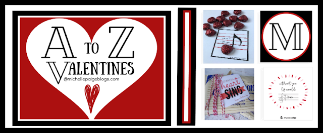 Music Valentines @michellepaigeblogs.com