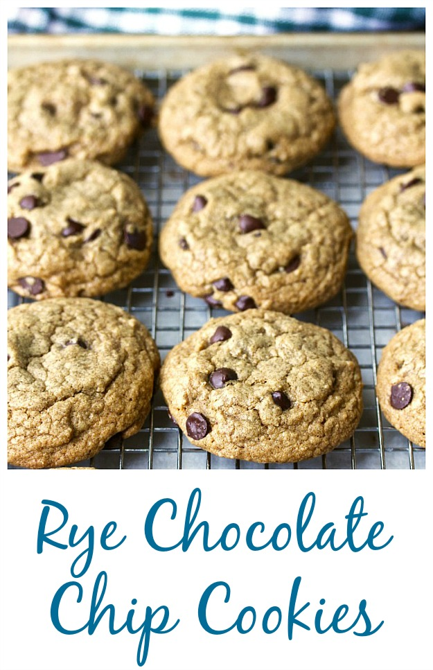 Rye Chocolate Chip Cookies