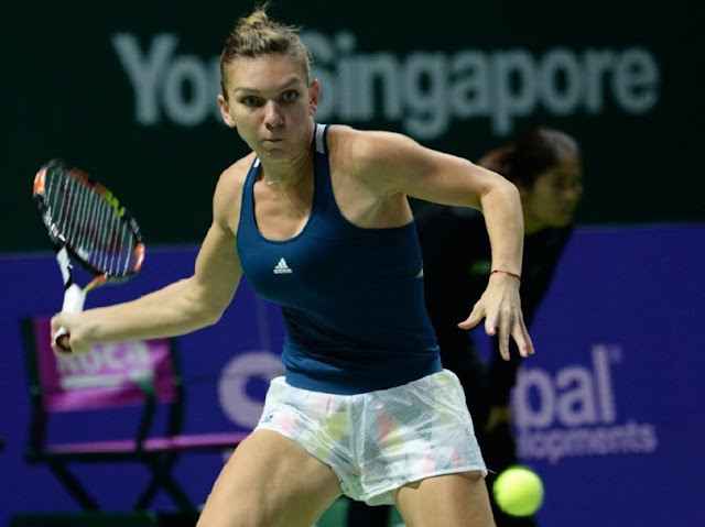 rezumat video Simona Halep Madison Keys 6-2, 6-4 Turneul Campioanelor Singapore 2016 Simona Halep vs Madison Keys wta finals youtube Turneul Campioanelor Singapore 23 octombrie 2016 halep vs keys 23.10.2016 singapore video highlights youtube Simona Halep - Madison Keys 6-2, 6-4 (Turneul Campioanelor, Singapore)