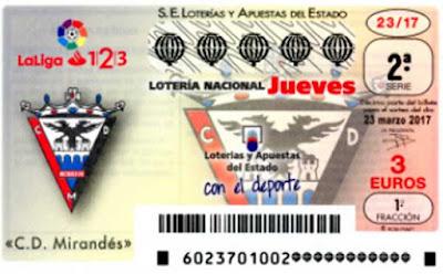 Décimos de loteria nacional del sorteo 23 del jueves 23 de marzo