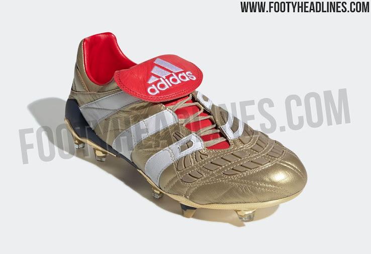 Goldene Adidas Predator Accelerator Zinedine Zidane 2019