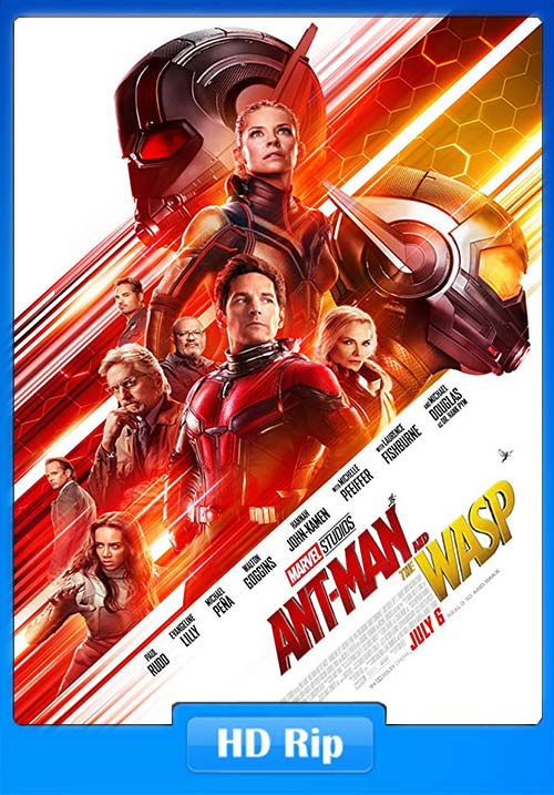 Ant-Man and the Wasp 2018 HDTC 720p Hindi Dubbed x264 | 480p 300MB | 100MB HEVC