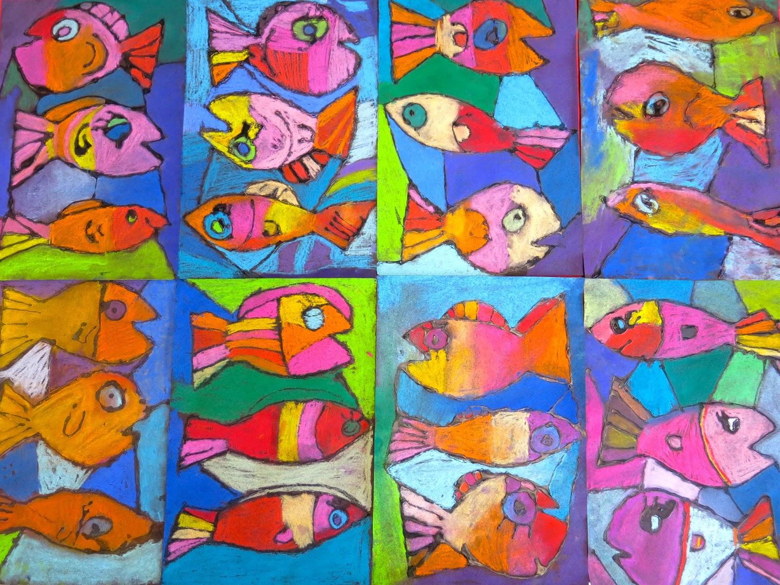 Cassie Stephens Diy Folk Art Fish Update