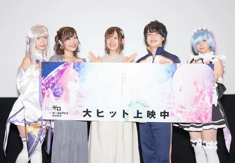 foto cosplayer resmi anime re zero