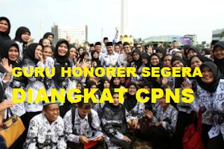 honorer diangkat menjadi cpns