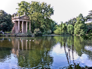 The Villa Borghese gardens date back to 1605