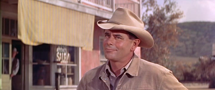 edccddcf869812 Think of that great Western actor Glenn Ford: he wore a Jaxonbilt with  curled brim that became recognizable as 'his' hat. See it in Jubal, ...