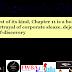 Tornado Giveaway 3: Book No. 38: CHAPTER ELEVEN: KISSA CORPORATE BANKRUPTCY KA by Amit Shankar