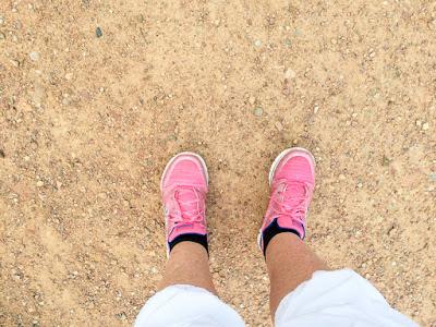 Laufschuhe in pink