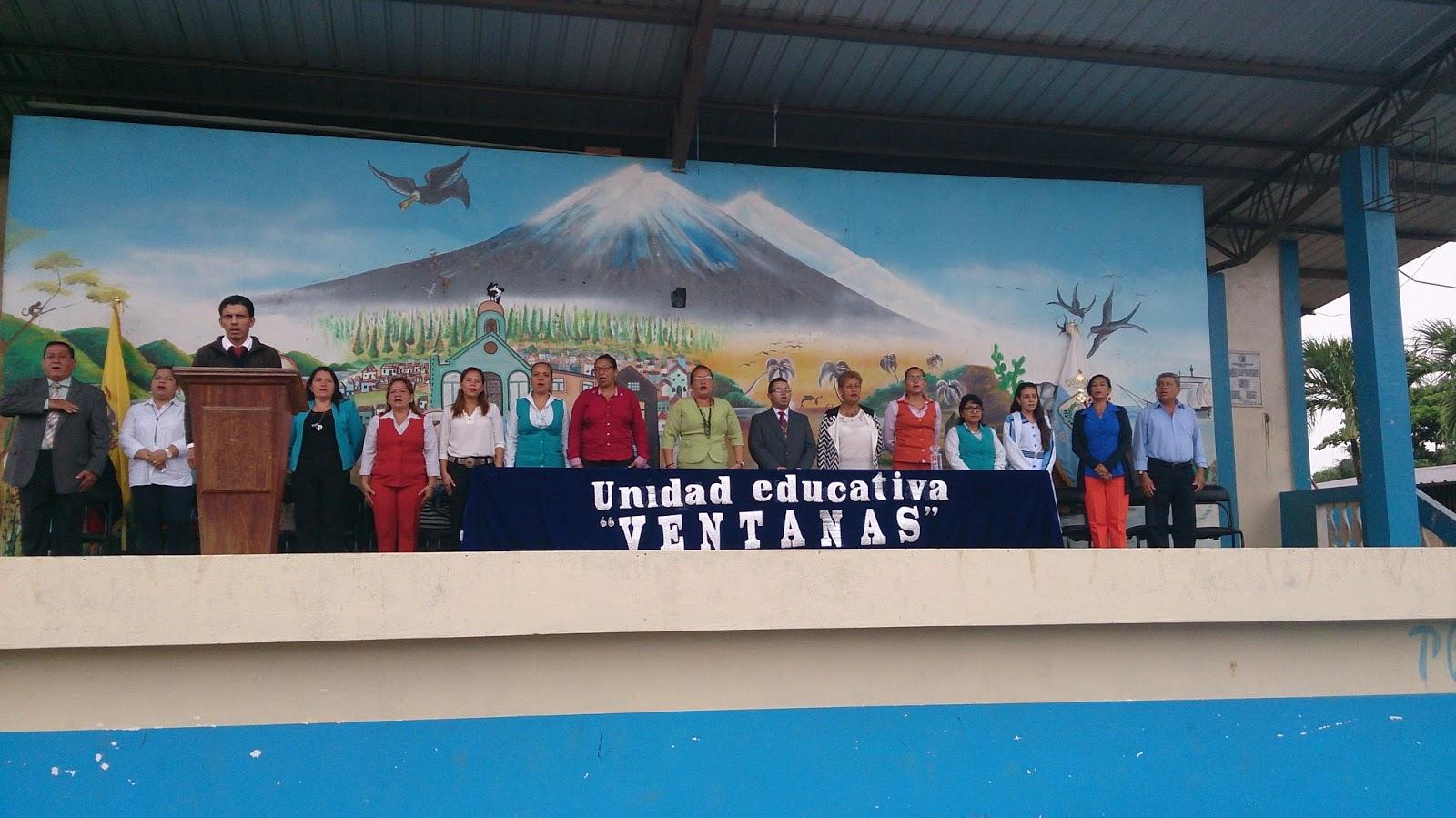 UNIDAD EDUCATIVA VENTANAS 2016
