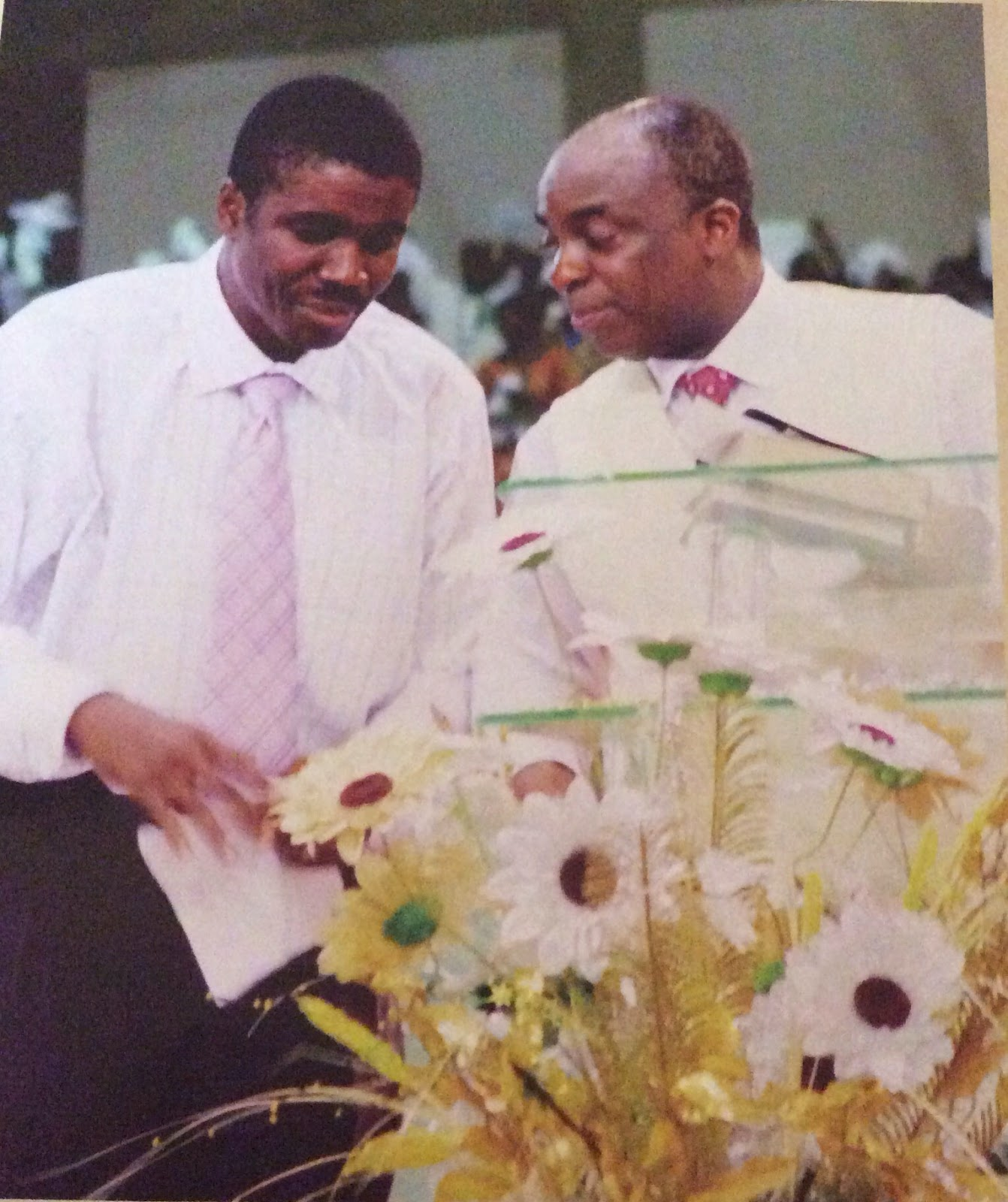 Living Faith Church Abuja: Theelites : THE STORY OF MY LIFE-BISHOP DAVID OYEDEPO AT