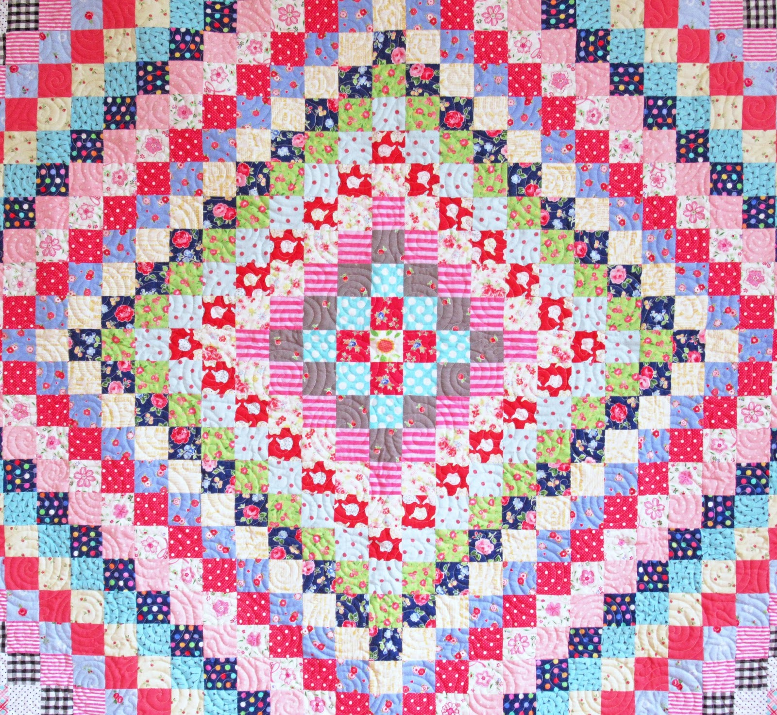 Helen Philipps: Trip Around the World Quilt