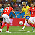 FIFA World Cup 2018: Switzerland holds Brazil to 1-1 draw