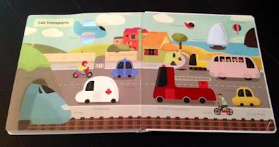 Mon grand imagier à toucher - Editions MILAN JEUNESSE - Les transports