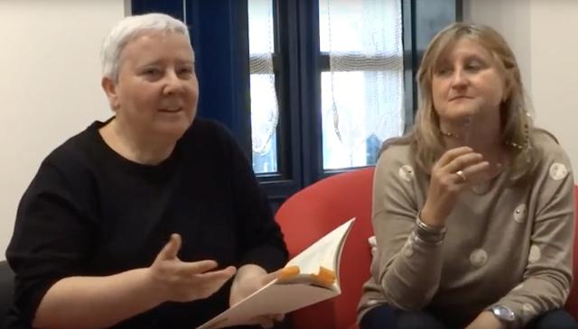 LOLA CALLEJÓN recita su poema EL BIG BANG