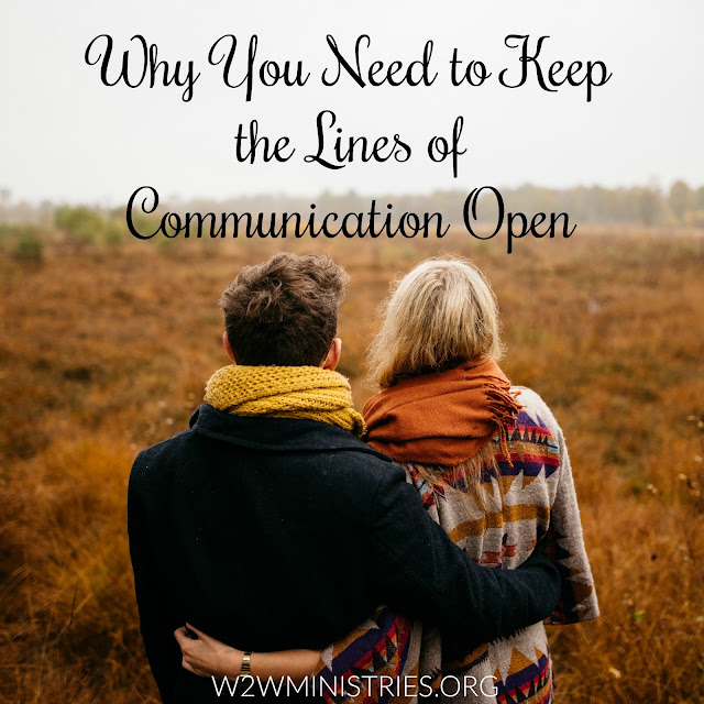 Why You Need to Keep the Lines of Communication Open #marriage #marriagemonday #communication