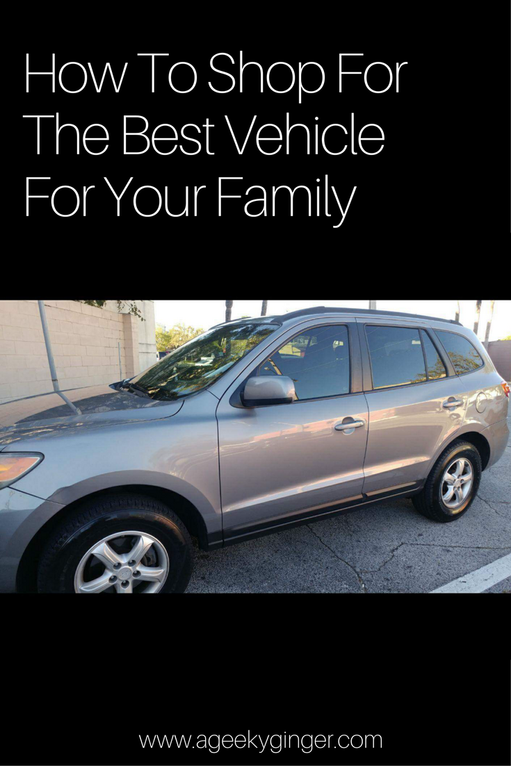 How To Shop For The Best Vehicle For Your Family