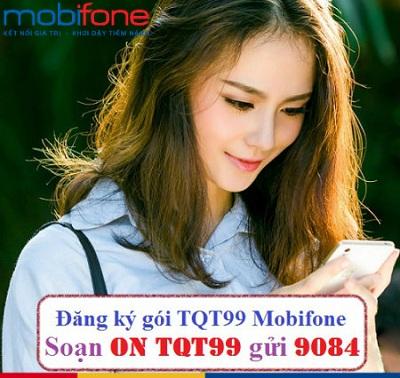 Đăng ký gói TQT99 Mobifone