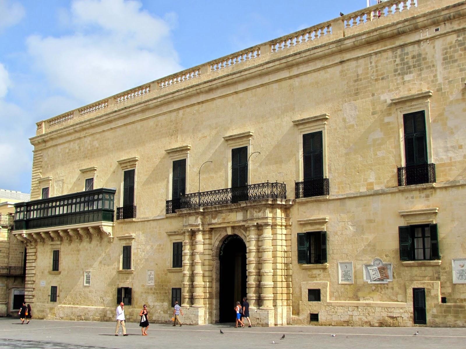Malta. Malte. Il-Bet Valletta. La Valeta. Palacio. Gran Maestre