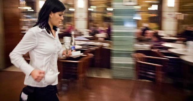 Οι σερβιτόροι δεν είναι δούλoι