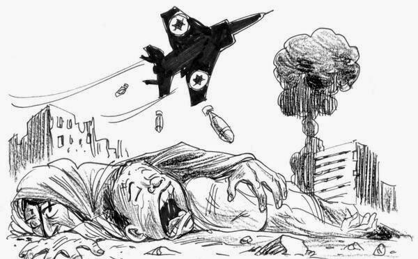 Avião de Israel ataca Gaza