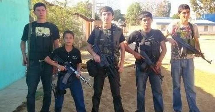 Niños son obligados unirse al narco en Mexico