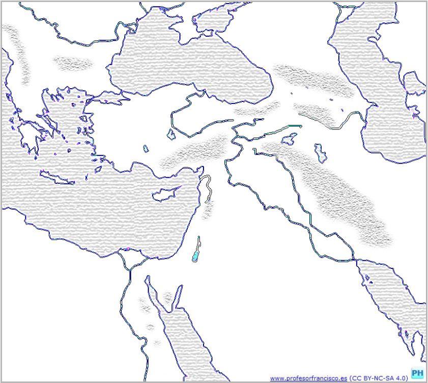 Profesor de Historia Geografa y Arte Mapas de las primeras