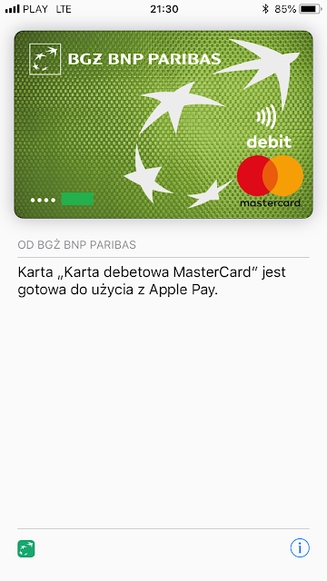 Jak dodać kartę do Apple Pay?