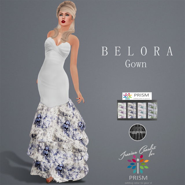 PRISM ~ NEW 55L Thursday Outfit BELORA Gown with HUD
