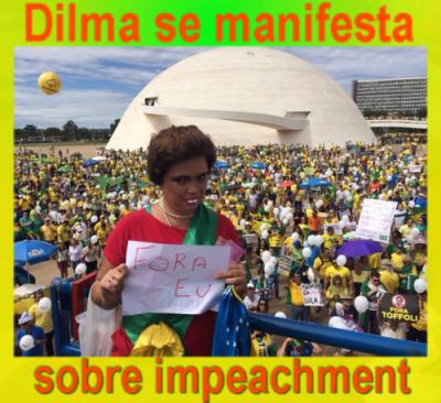 Dilma se manifesta sobre o impeachment, dia 13