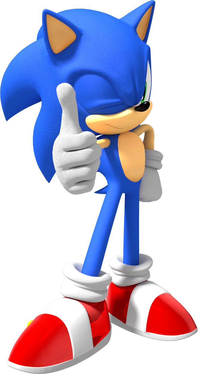 It is a photo of Enterprising Sonic the Hedghog Images
