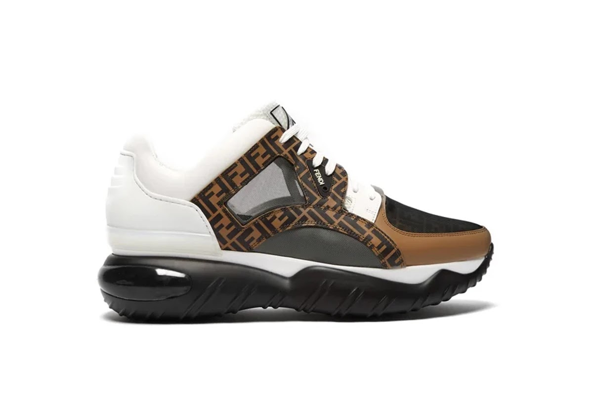 65d2c81c863e86 Fendi recently dropped one of the sneakers from their SS19 collection as the  brand continues to ride the bulky sneaker trend. The funky and chunky  sneaker ...