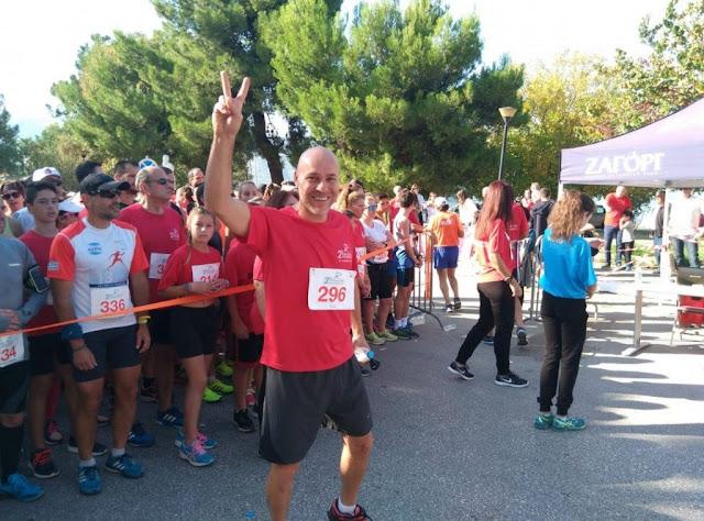 Γιώργος Αμυράς: Τρέχω για τον Σταύρο στην Ηγουμενίτσα!