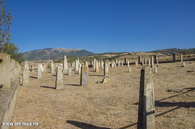 Serbian Military WW1 Cemetery - Dobroveni village Novaci Municipality, Macedonia