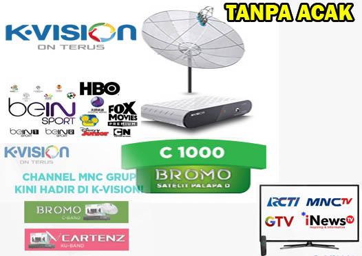Inilah Receiver Parabola Yang Tidak Diacak Frekuensi RCTI, GLOBAL TV, dan MNCTV Awal Mei 2019, K-Vision Jawabannya